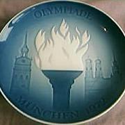 Olympiade Plate Munich 1972