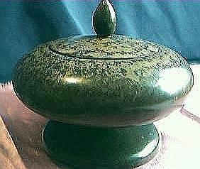 RETRO Stinkwood Powder Bowl