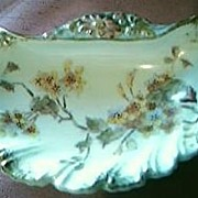 Victorian Hand Painted Sweets Dish