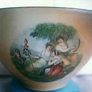 Victoria China Sugar Bowl