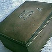 Tin State Express Cigarette Box