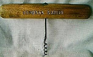 Vintage Cognac Barnett Corkscrew