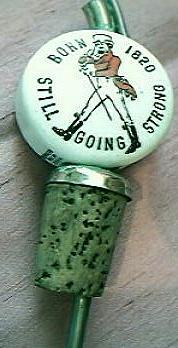 Porcelain Jonnie Walker Nip Pourer