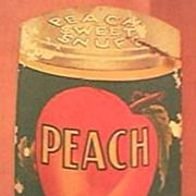 "Vintage Tobacco Advertising Booklet for ""Peach Snuff"" Circa 1930's"