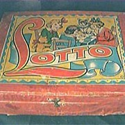 Vintage 1930 LOTTO Boxed Children's Game