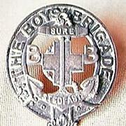"Vintage Boys Brigade Badge "" Sure - Stedfast"""