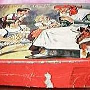 Vintage Children's Playing Blocks Circa 1940's-50's