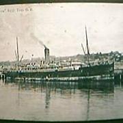 Vintage Shipping Postcard S.S. MARAMA Circa 1910