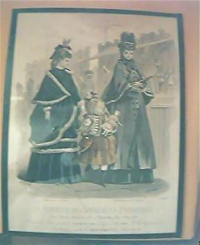 Vintage French Engraving Circa Late 1800's
