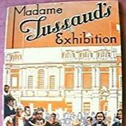 1939 Madam Tussauds  London Exhibition Guidebook