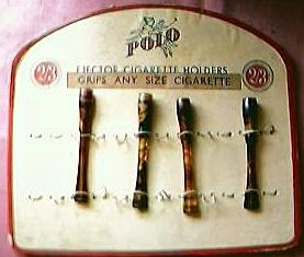 POLO Brand Display Card and Cigarette Holders