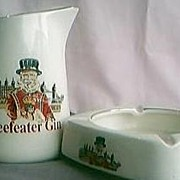 Beefeaters Gin Jug & Ashtray