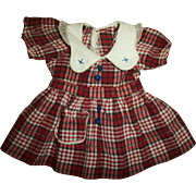 SOLD Original Effanbee Ann Shirley~Patsy Dress
