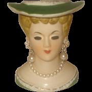 """SALE Small Head Vase 3"""""""