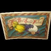 SOLD Vintage Easter Postcard  with Chicks -Sale Pending