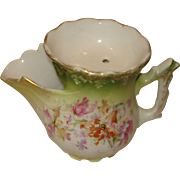 SALE Porcelain Scuttle Type Mustache Cup