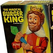 1980 Knickerbocker Magical Burger King Doll in Box