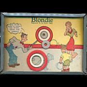 1946 Blondie & Dagwood Target Game