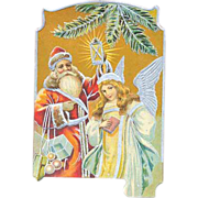 Santa Claus/Father Christmas 1908 Postcard