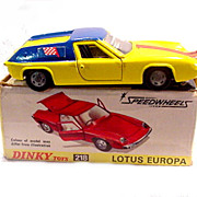 Dinky 218 Lotus Europa Car NMIB
