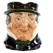 "Royal Doulton ""Captain Cuttle"" Character Toby Jug"