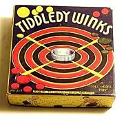 "1930s Transogram ""Tiddely Winks"" Game"