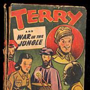 "1944 ""Terry & War in the Jungle"" Big Little Book"