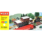 Vintage WIAD German Storage Shed Kit - B 1060