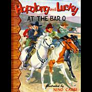 1950 Hopalong Cassidy & Lucky Bar-Q Book