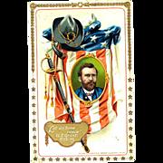Tucks 1910 Decoration Day Patriotic Postcard
