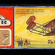 """1973 Wright Brothers """"1903 Flyer"""" Balsa Wood Airplane Kit"""