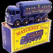 1960s Matchbox 10 Tate & Lyle Sugar Container Truck in Box