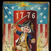 Memorial Day 1776 Boy Drummer 1907 Postcard