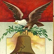 1908 ´A Glorious Fourth´ Ellen Clapsaddle Postcard
