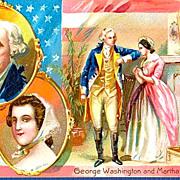 Tucks George Washington's Birthday 1908 Postcard