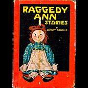 """Raggedy Ann's Stories"" Johnny Gruelle Book"