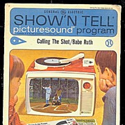 """Show'n Tell """"Babe Ruth"""" GE Record"""