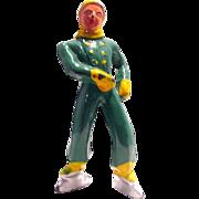 (B176) Barclay Boy Figure Skater in Green