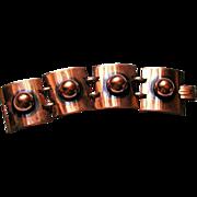 REDUCED Copper Tortolani Crislu Copper Wide Heavy Link Bracelet