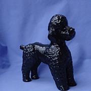 """HTF black Rosenthal poodle 7"""" Germany"""