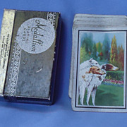 Borzoi trio card deck