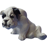 SALE 1940s English Bulldog Jan Allan 5""