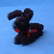 SALE German fur toy dog 4 French fashion doll  Scotty