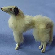 "antique fur Borzoi Germany 4 French fashion doll 3"""