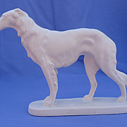 """REDUCED 1950s Borzoi Hertwig Germany 7"""""""