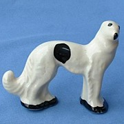 SALE 1930s Stangl dog wolfhound Borzoi