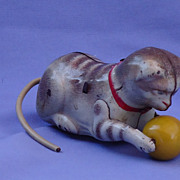 1940s tin cat toy Germany works USZ