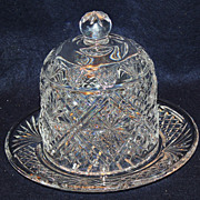 Waterford Dessert Dome by Samuel Miller