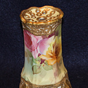 Beautiful Hand Painted Nippon Hat Pin Holder