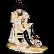 Scheibe Alsbach/Kister Napoleon At Waterloo Figure